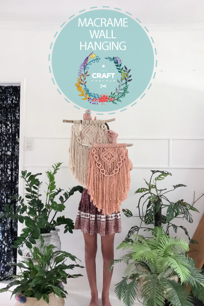 DECEMBER 16TH - MACRAME WALL HANGING