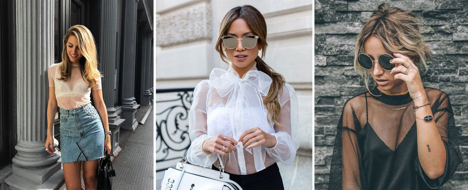 5 top trends 2020 fashion show - Sheer Blouse