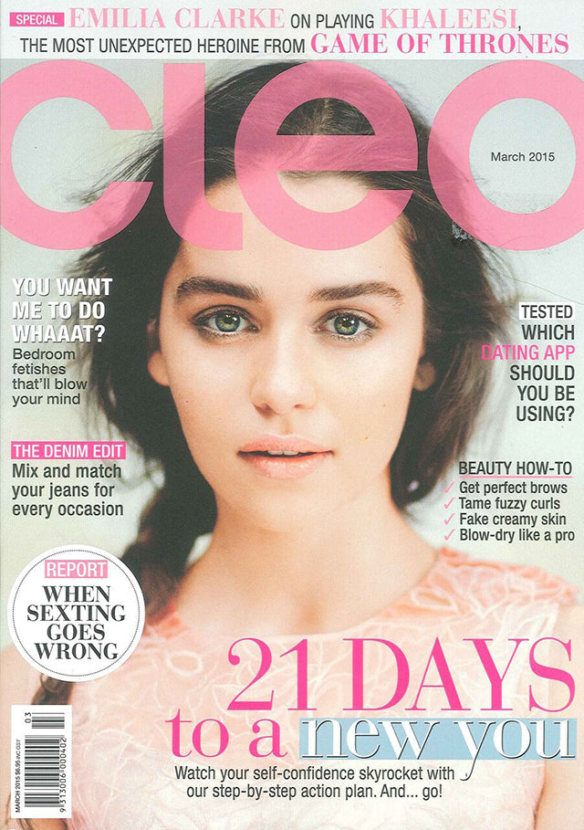 Cleo Magazine March ROC Hat 1