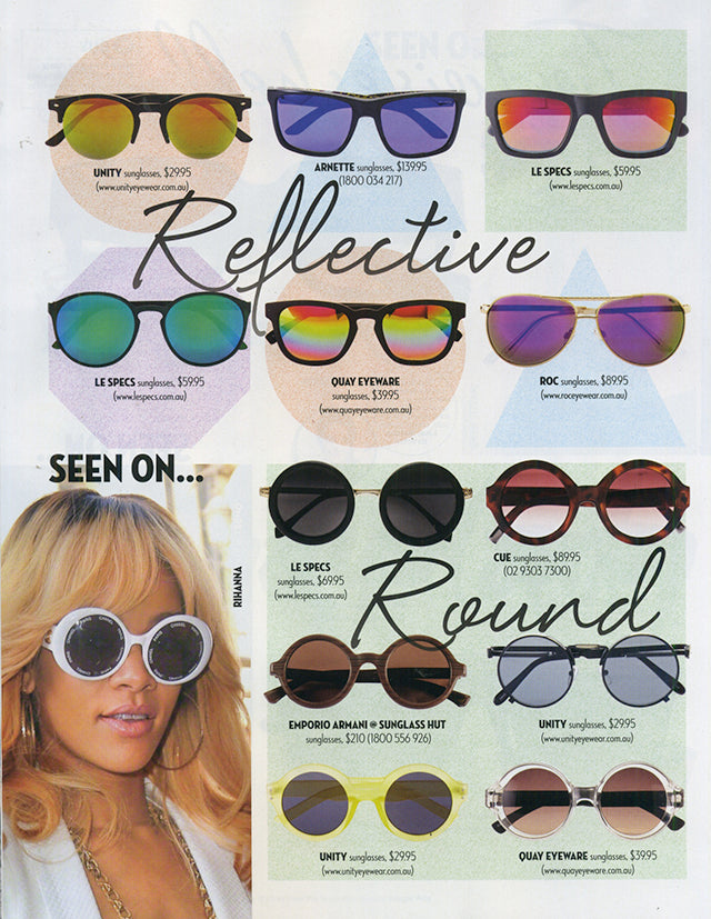 Famous Magazine September Issue ROC Sunglasses 2