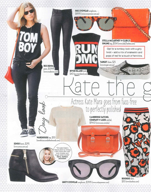 Famous Magazine September Issue ROC Sunglasses and Hat 3