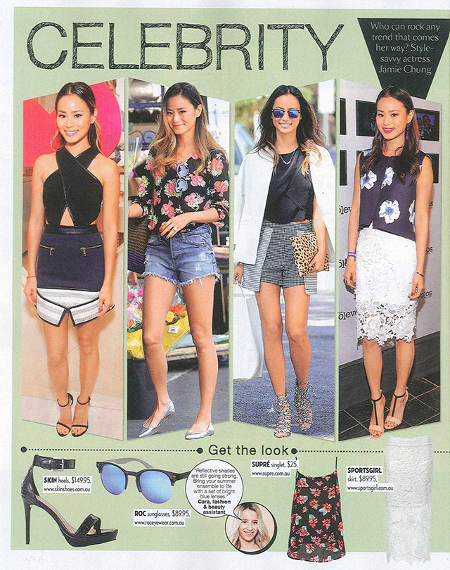 Famous Magazine November Issue ROC Clubmaster Sunglasses 2