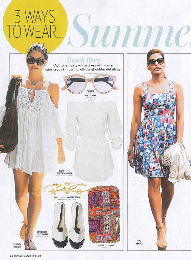 OK! Magazine January Issue ROC Camel Sunglasses 2