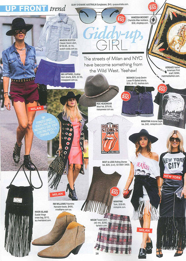 Shop til you Drop November Issue ROC Isla Revo Sunglasses Grey Hat 2