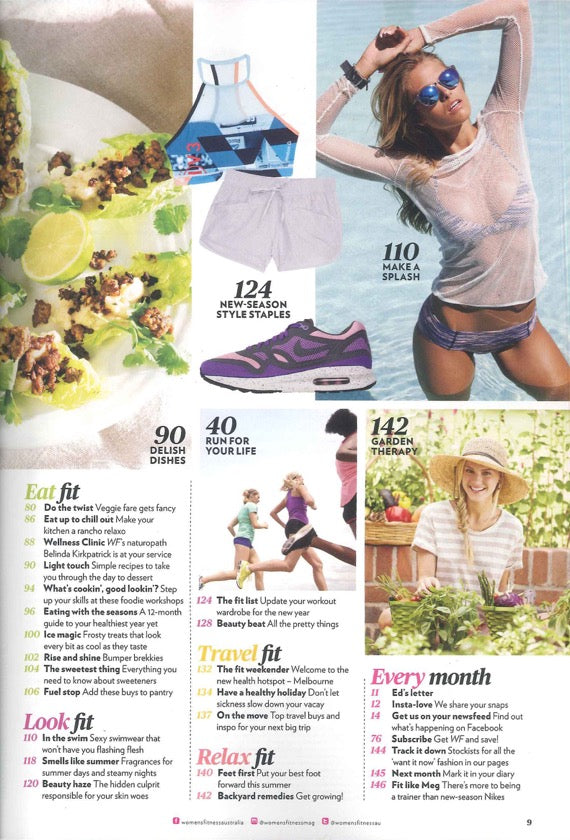 Womens Fitness Magazine January Issue ROC Sunglasses 2
