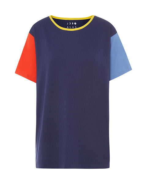 Colour Block Basic Tee