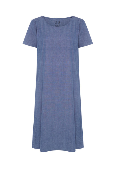 Relaxed Chambray Dress - Size XS only