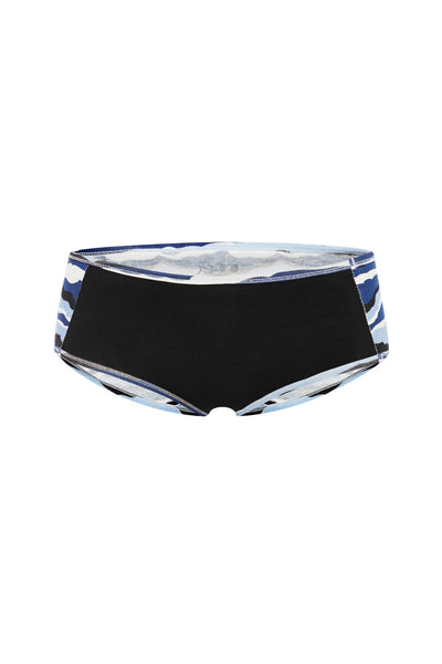 Black/Waves Underpants