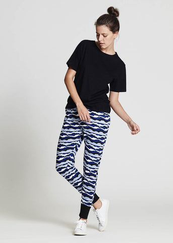 Waves Jersey Pants