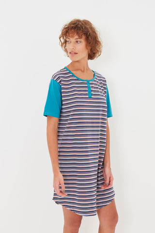 Seaside Stripe T-shirt Nightie