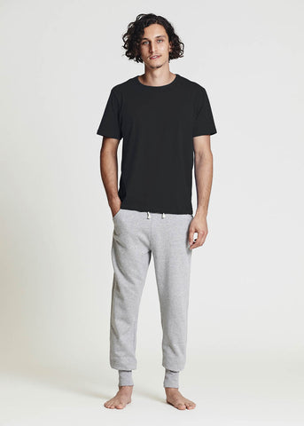 Men's Black Basic Tee