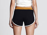Black Running Shorts