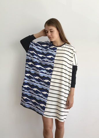 Waves / Stripe Nightie
