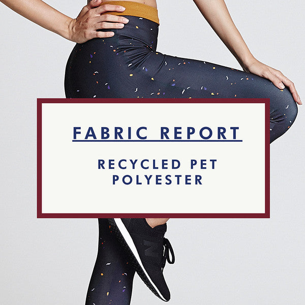 Recycled PET polyester