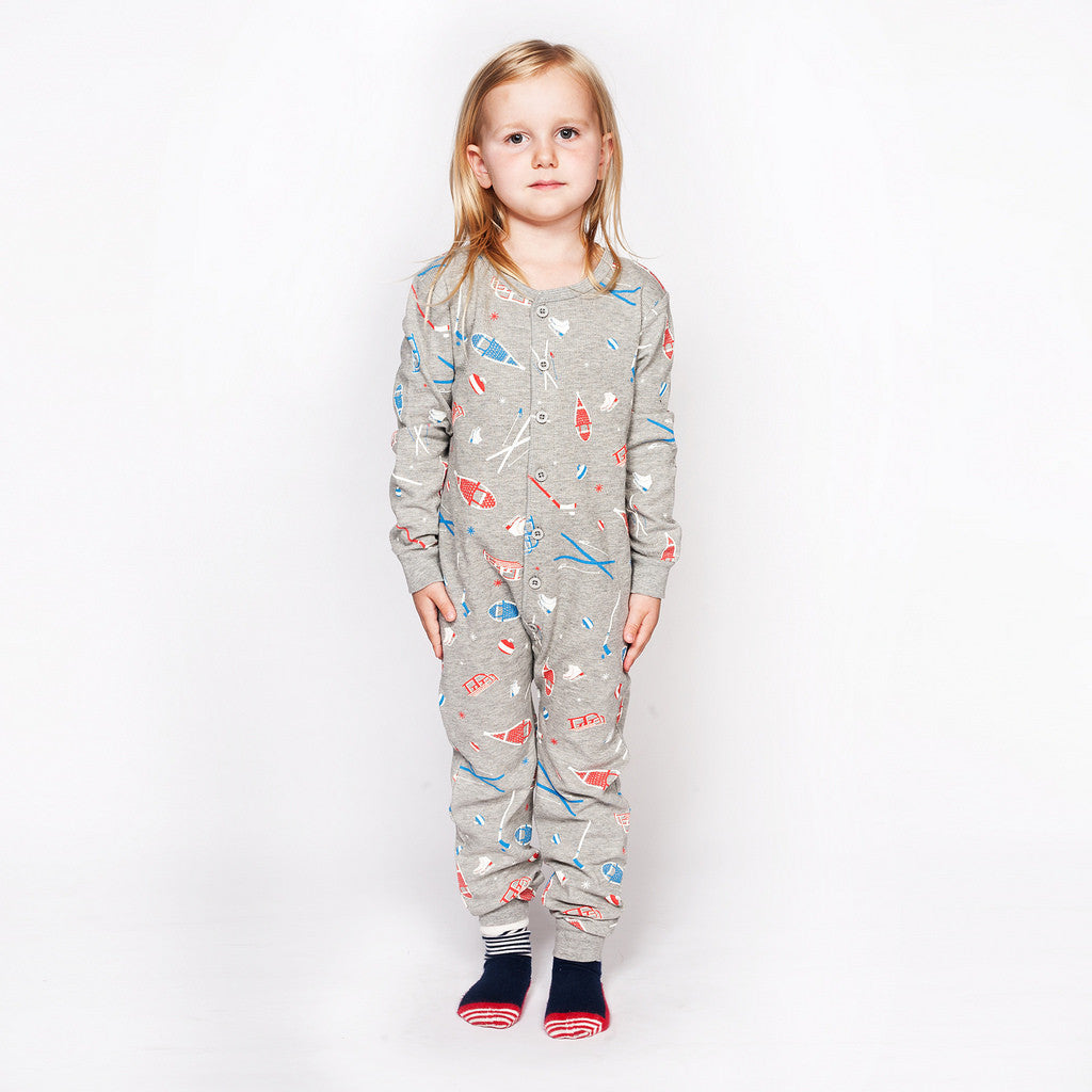 Wintersport Onesie - Kids