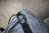 D3 Raw Strap with Screw-Lock Carabiner (Matte Black)