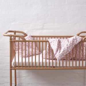 Monkey Wild Rose Bed Set Baby