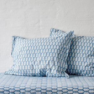 Leaf Blue Sea Pillowcase 2 pc