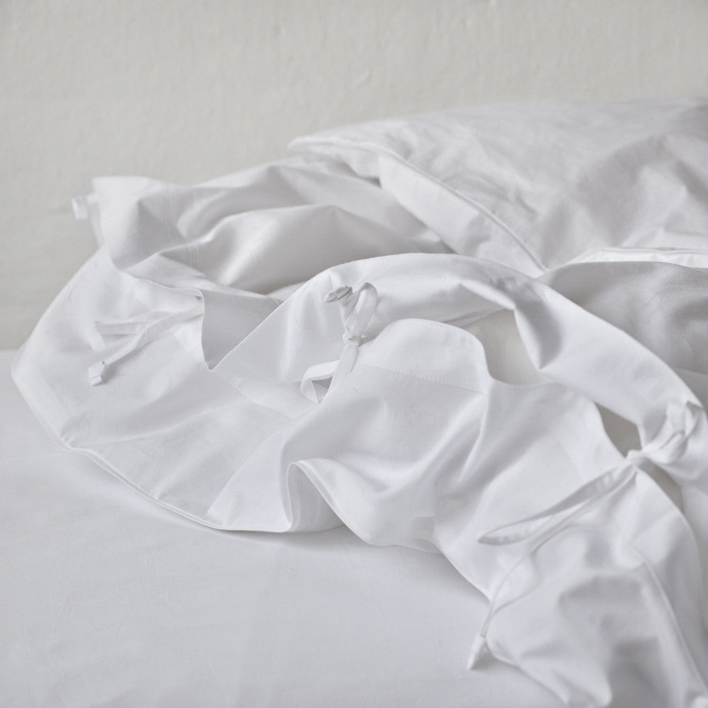 Crisp White Duvet Cover