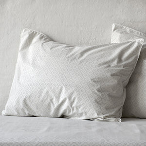 Geometric Rustic Grey Pillowcase 2 pc