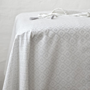 Geometric Rustic Grey Sheet