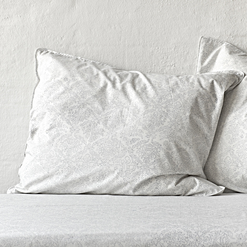 Jaal Rustic Grey Pillowcase 2 pc