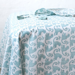 Monkey Green Sea Sheet