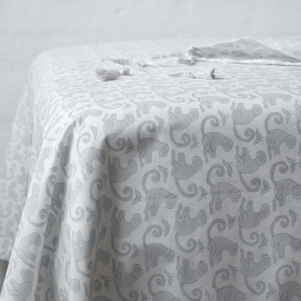Monkey Rustic Grey Sheet