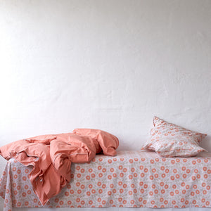 Sunflower Coral Pillowcase 2 pc