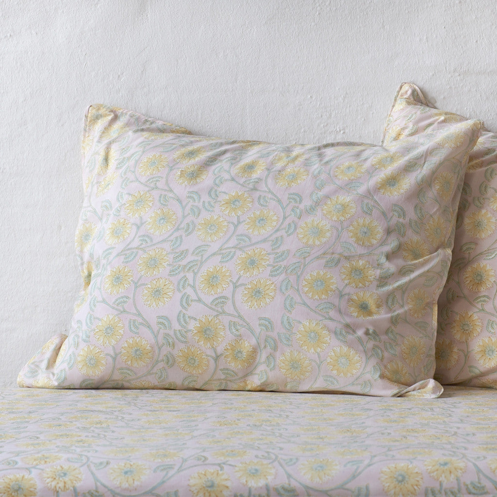 Sunflower Mustard Pillowcase 2 pc