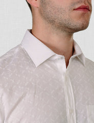 Brookes Dragonfly Print Shirt (Short Sleeve)