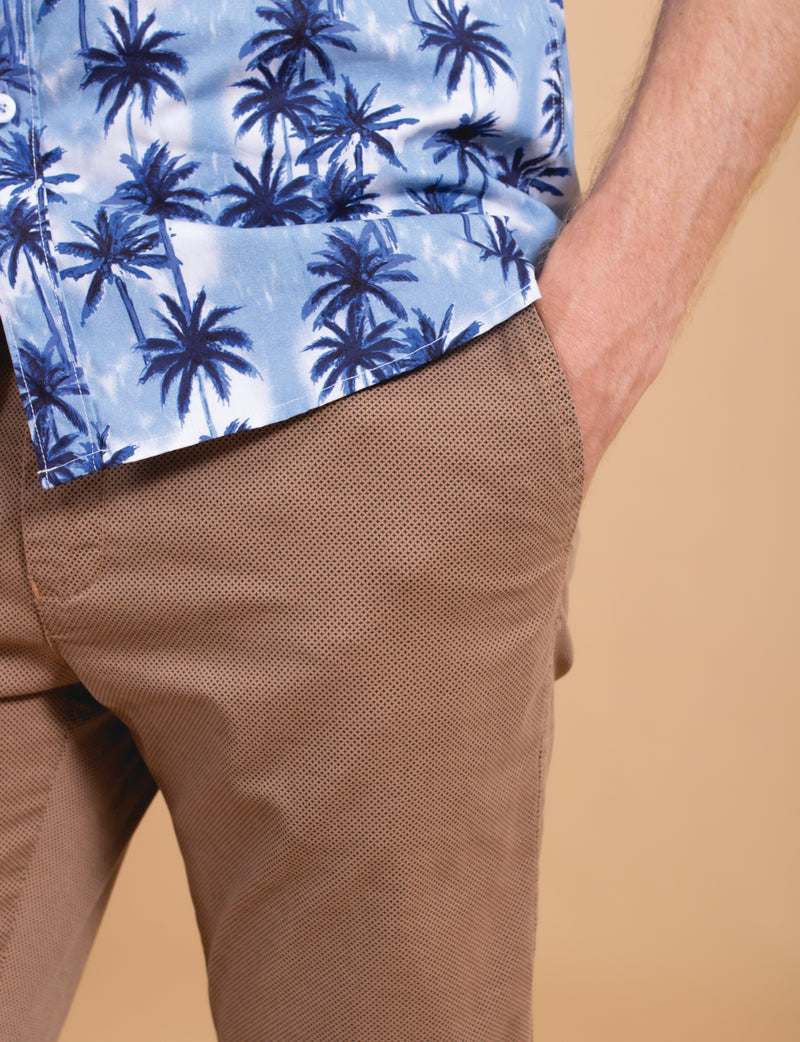 Bark Printed Chino Pants