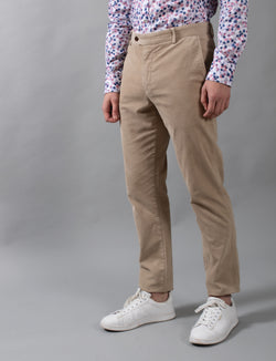 Cement Corduroy Chino Pants