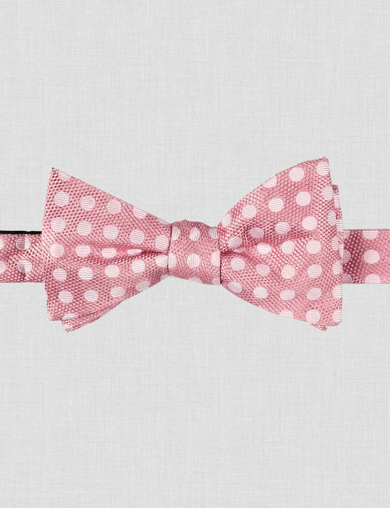 Dusty Pink Bow Tie