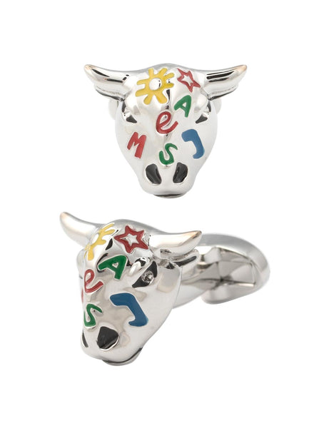 Graffiti Bull Cufflinks