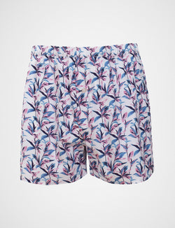 Abstract Leaf Sleep Shorts