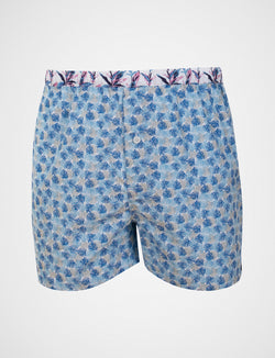 Monstera Print Sleep Shorts