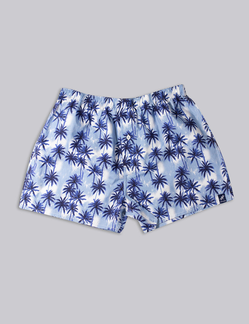 Palmarama Print Sleep Shorts