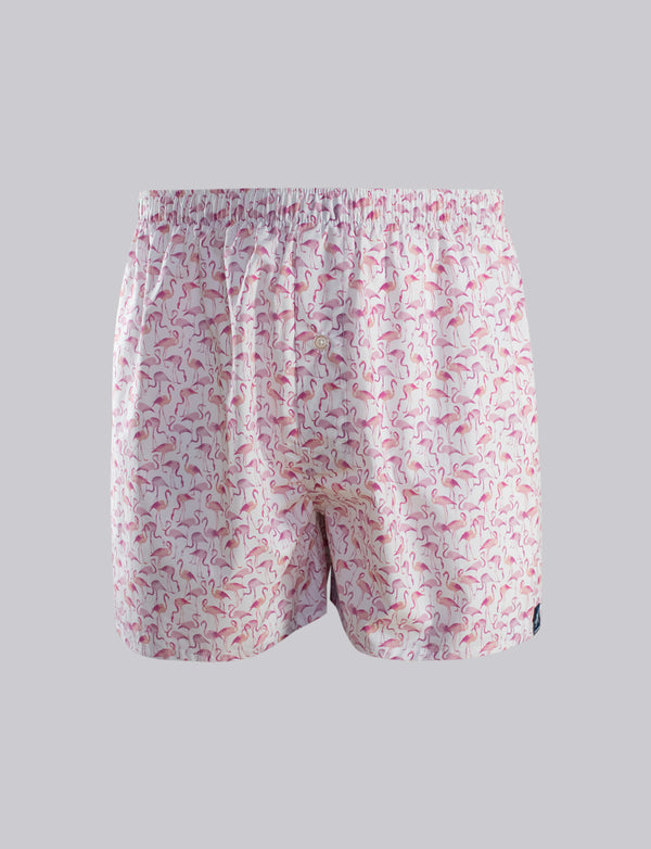 Flamingo Print Sleep Shorts