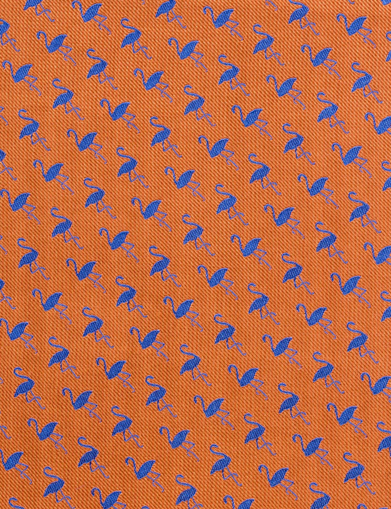 Flamingo Flock Pocket Square