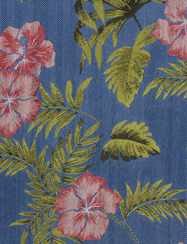 Hibiscus Pocket Square