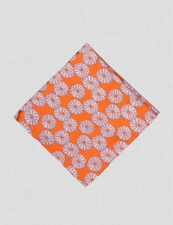 Tangerine Dream Pocket Square