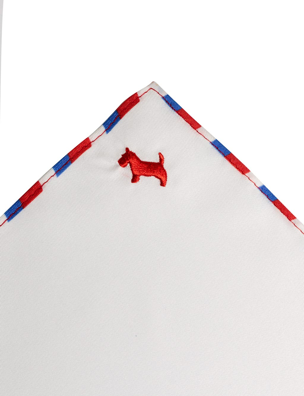 Scottie Dog Pocket Square