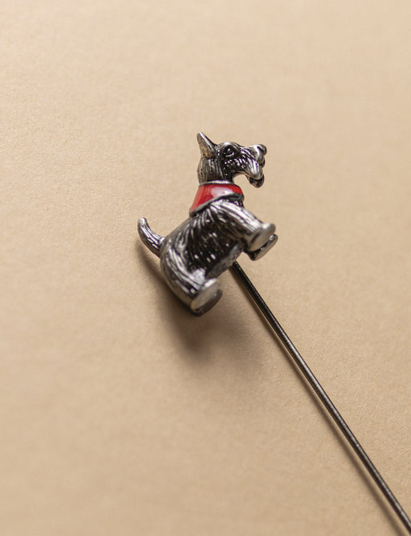 Scotty Dog Lapel Pin