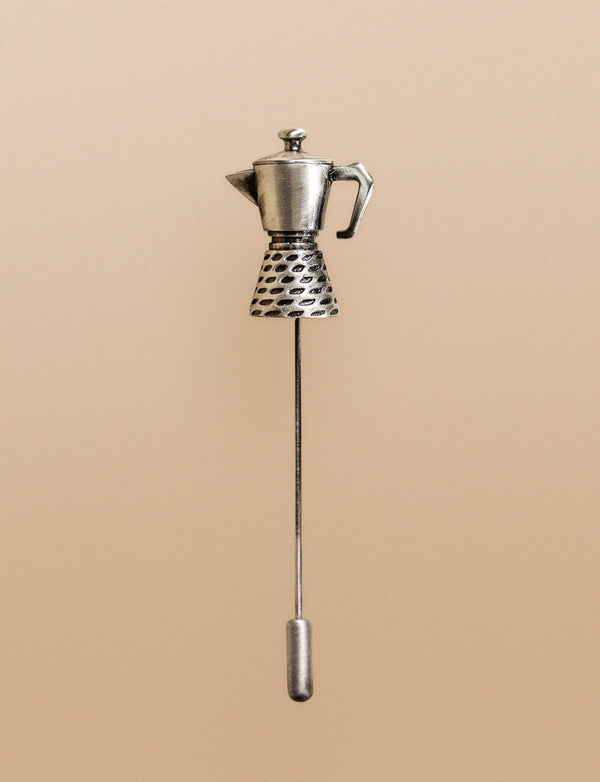 Coffee Pot Lapel Pin