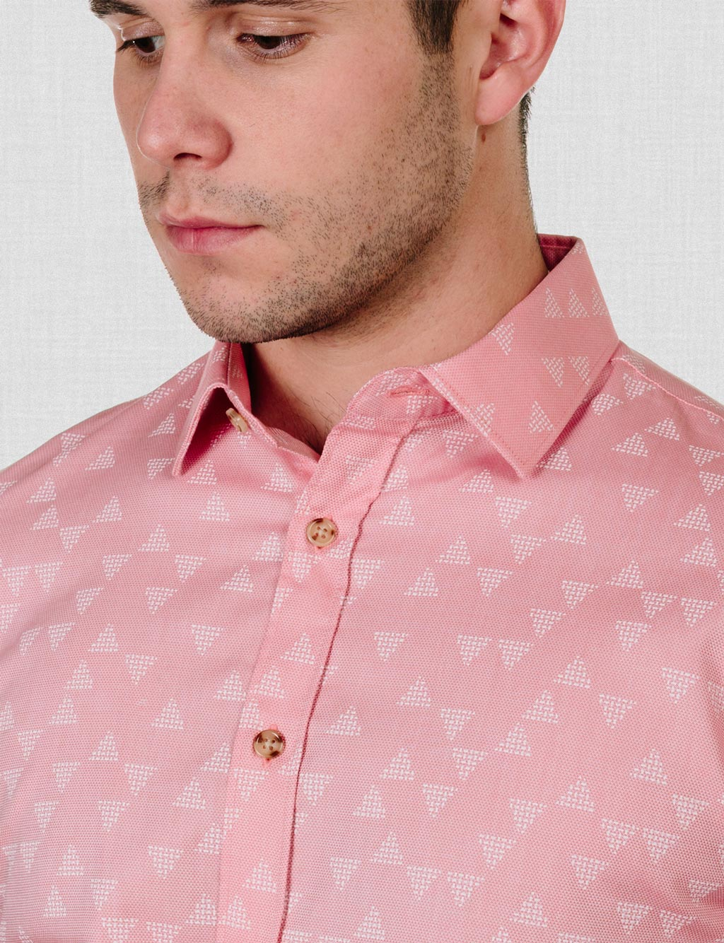 Liverpool Triangle Print Shirt (Short Sleeve)