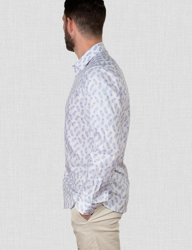 Bennet Feather Print Shirt