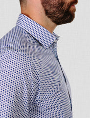 Boston Geometric Print Shirt