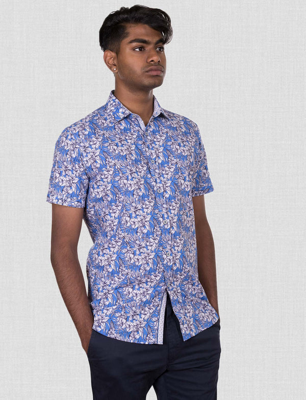 Foley Floral Shirt (Short Sleeve)