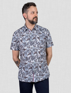 Winton Floral Shirt (Short Sleeve)
